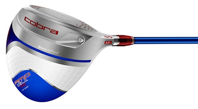 The Cobra AMP CELL Pro driver is a limited edition, U.S. Open-specific driver -- 600 will be sold -- available June 1 at select retailers.