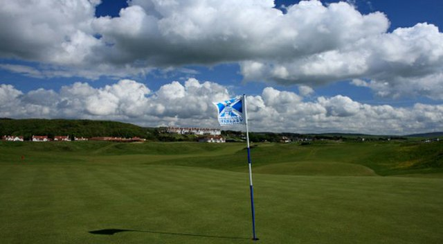 The Kintyre Championship course in Turnberry, Scotland.