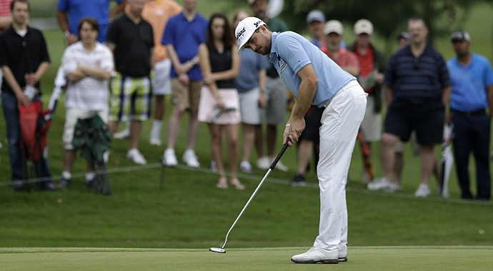 Keegan Bradley carded 10 birdies and an eagle en route to a 10-under 60 on Thursday at the HP Byron Nelson Championship.