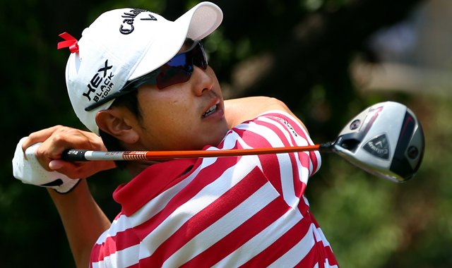 Sang-Moon Bae is playing with 54-hole leader Keegan Bradley on Sunday at the HP Byron Nelson Championship.