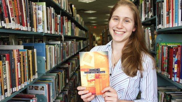 Longtime Winter Park resident and Flagler College student Jenni Sujka, with the help of her father, compiled and published a book of her fellow students' poetry.