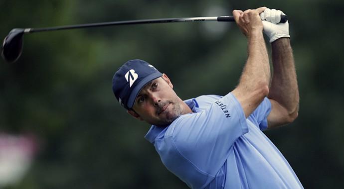 Matt Kuchar during the second round of the 2013 Crowne Plaza Invitational.