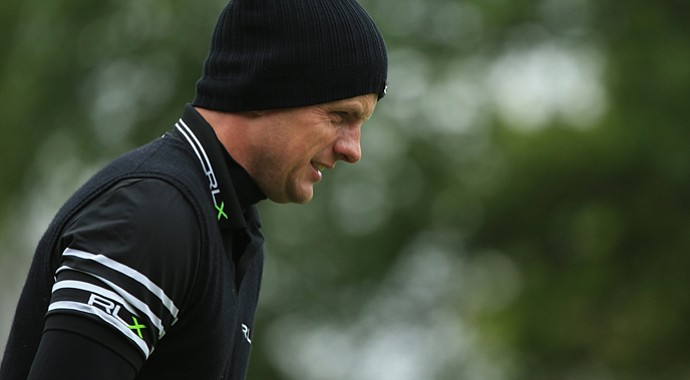 Luke Donald fired a 78 to miss the cut at the BMW PGA Championship on Friday.