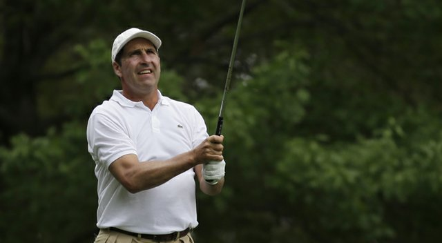 Jose Maria Olazabal was among the players to advance from the U.S. Open sectional qualifier at Walton Heath Golf Club.