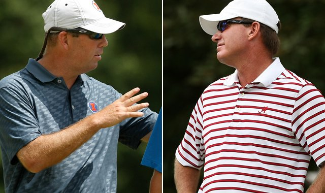 Illinois head coach Mike Small and Alabama head coach Jay Seawell will lead their teams into the NCAA final on Sunday at the Capital City Club in Milton, Ga.
