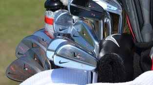 PHOTOS: Equipment on the range at U.S. Open