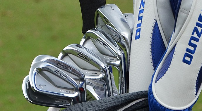 A look inside Luke Donald's bag.