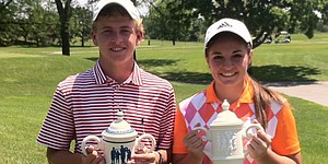 Sass, Raines claim Midwest titles
