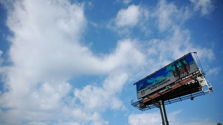 Chartering against billboards
