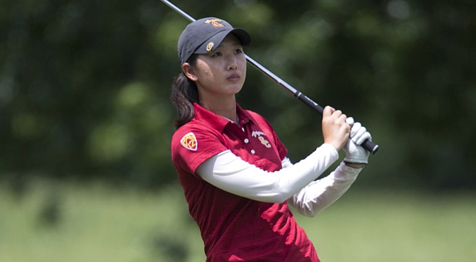 Doris Chen during Round 1 of the U.S. Women's Amateur Public Links.