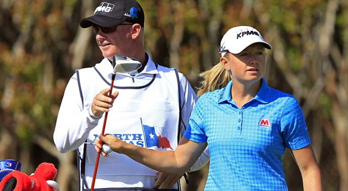 Stacy Lewis, who last won in March, is like a local in Arkansas.