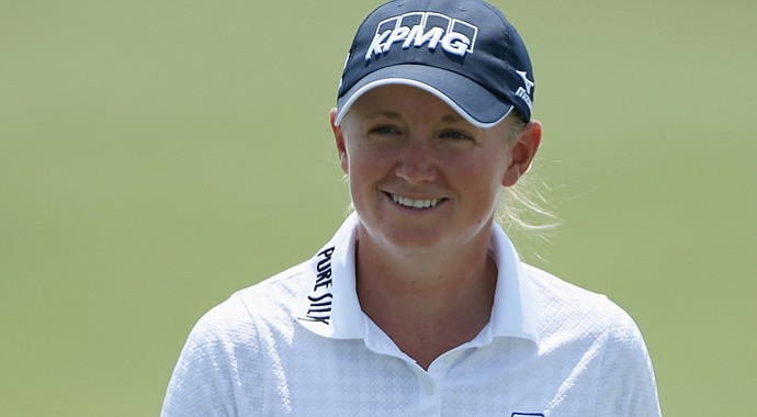 Stacy Lewis finished third in the 2008 U.S. Women's Open and has since vaulted to World No. 2.