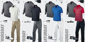 Charl Schwartzel's apparel at Open Championship