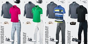 Nick Watney's apparel at 2013 Open Championship