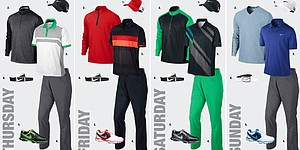 Rory McIlroy's apparel at Open Championship