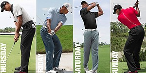 Tiger Woods' apparel at Open Championship
