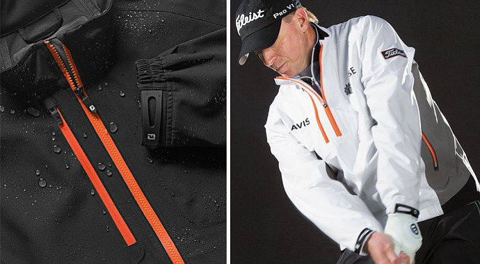 "The new FootJoy DryJoys Tour XPTM Rainwear is said to deliver ""Xtreme Performance"" under all weather conditions."