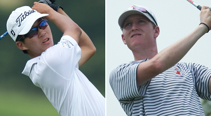 Cal's Michael Kim and Oklahoma State's Jordan Niebrugge will face off in the 2013 Public Links final on Saturday.