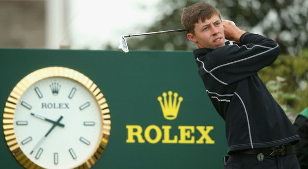 Fitzpatrick takes low-amateur honor at Open