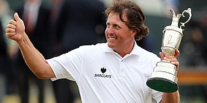 5 Things: Mickelson's 'best round of career' earns 1st Open