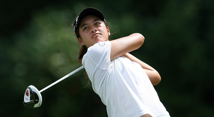Gabriella Then easily advanced to the Round of 32 at the U.S. Girls' Junior.