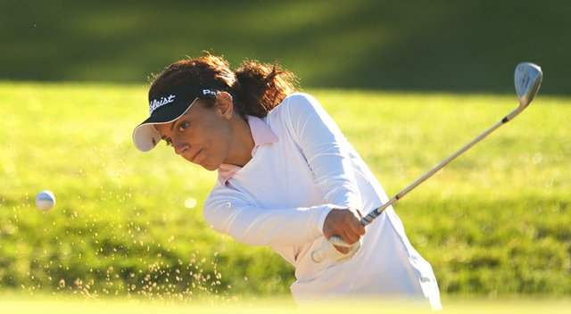 Sabrina Bonanno was the surprise player of the second and third rounds of match play at the U.S. Girls' Junior.