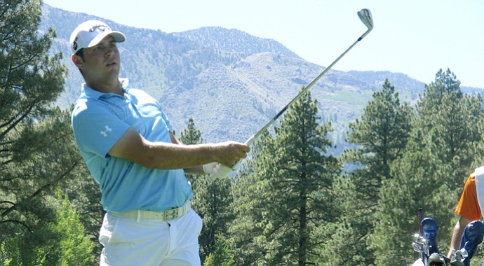 Gary Woodland holds a seven-point lead after the third round at the Reno-Tahoe Open.