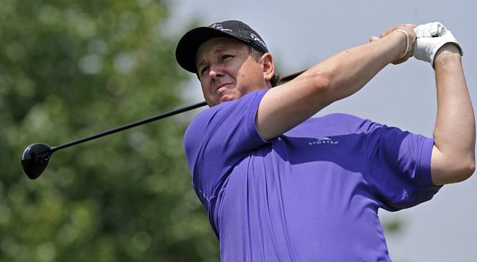 J.J. Henry moved into the PGA Championship field after friend Mark Brooks withdrew on Wednesday.