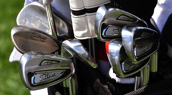 A look at Jason Dufner's equipment that led to a 7-under 63 on Friday at Oak Hill.