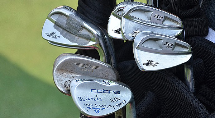 A look inside Jonas Blixt's bag that he used to move into contention at the PGA Championship on Saturday.