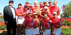 U.S. earns Junior Solheim title with key singles play