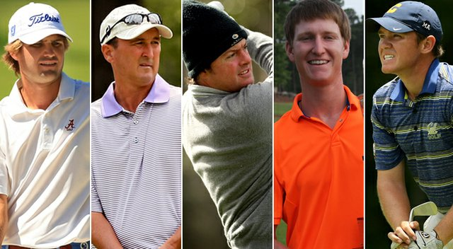 Bobby Wyatt, Todd White, Nathan Smith, Jordan Niebrugge and Michael Weaver were all added to the U.S. Walker Cup squad on Sunday.