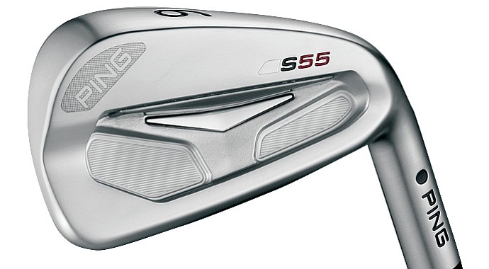 Ping's staff players get their first chance to put the company's latest blade-style irons, the S55, into play at Liberty National.