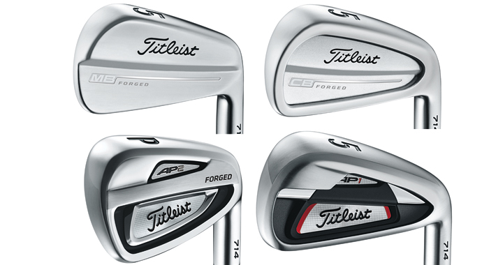 Its staff players into the company s four new 714 series irons