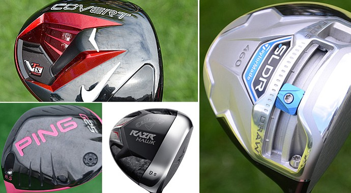 Check out the complete gallery of the drivers used by the PGA Tour's longest hitters.