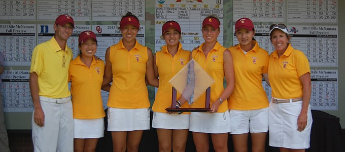 USC won the Dale McNamara Fall Preview with a 8-under 848 for 54 holes.