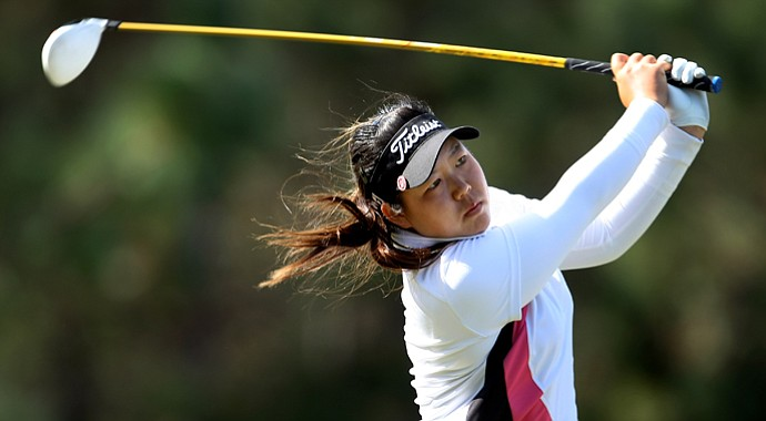 Christine Song is No. 2 on the Symetra Tour money list this season.
