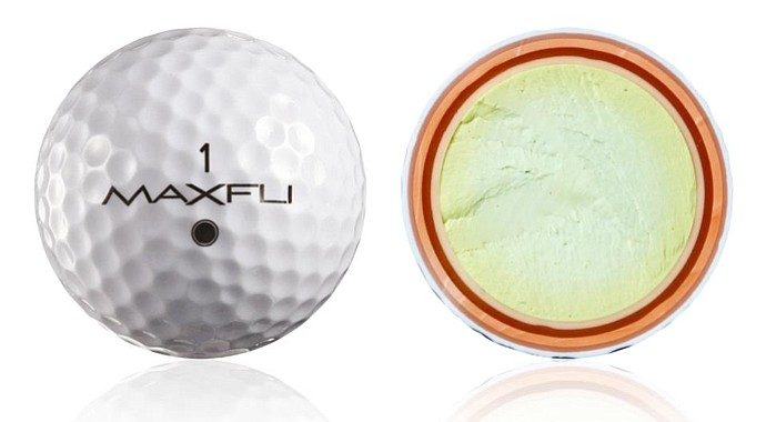 Dick's Sporting Goods, which now owns Maxfli, is unveiling a golf ball under the iconic brand, and it's certainly distinctive: The Maxfli U/6 is a six-piece golf ball.