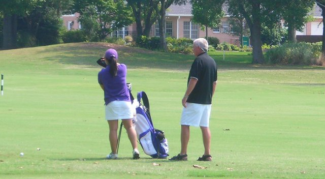 Sam Lesseig helped start the Truman State women's golf program in 1985.