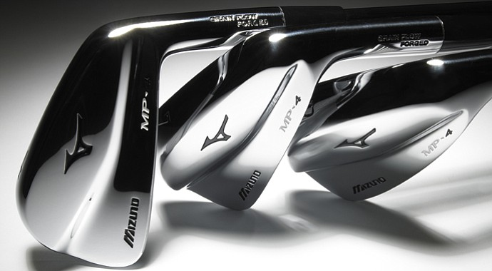 Give Luke Donald a forged iron and a grinding wheel, and he becomes a golf surgeon. His handiwork is evident in Mizuno's new MP-4 irons, which feature his signature sole.