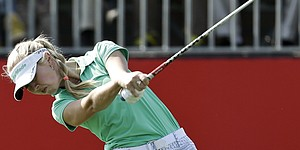 Korda, Choi go bogey-free in China for LPGA lead
