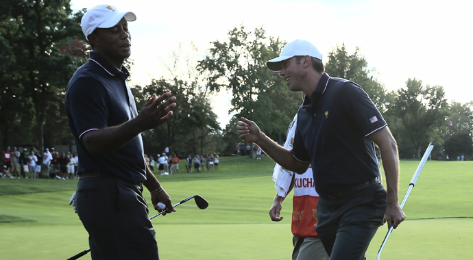 For the first time in three years, tournament host Tiger Woods will play beside a different partner when the Northwestern Mutual World Challenge begins Thursday -- plus complete tee times.