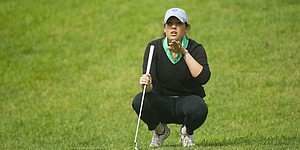 Medalist Potter survives close call at Women's Mid