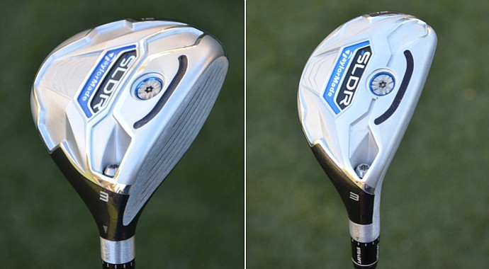 A low, forward CG position combined with a new slot in the sole helps the TaylorMade SLDR fairway woods and rescue clubs create more ball speed and distance.