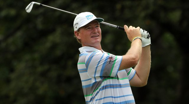 Ernie Els has experimented with a different ball and shafts will playing in Asia this week.