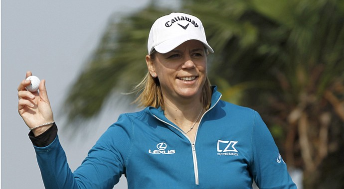 Annika Sorenstam (file photo)