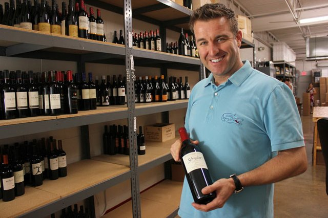 Wine man Adam Chilvers started local but went global with his Wine on the Way business, which is run out of Winter Park.