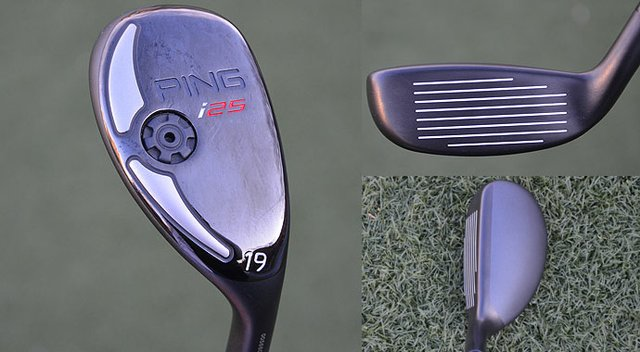 Higher launch angles and less spin are combined in Ping's new i25 hybrid.