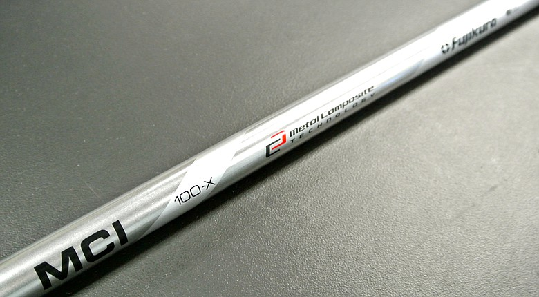 Fujikura's MCI (Metal Composite Iron) shaft recently became widely available through the certified network of Fujikura dealers. This iron shaft is a blend of graphite and steel. The objective is better balance, feel and stability.