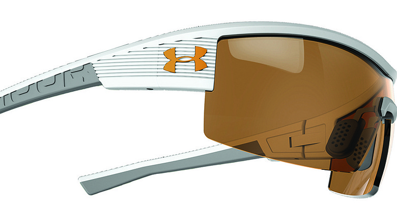 Under Armour introduced the UA Fire Hunter Mahan sunglass frames for golfers on Wednesday at the PGA Show.